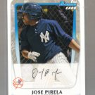 2011 Bowman Prospects  #21  JOSE PIRELA    Yankees