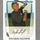 2011 Bowman Prospects  #38  EDUARDO ESCOBAR   White Sox