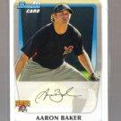 2011 Bowman Prospects  #39  AARON BAKER   Pirates