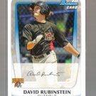 2011 Bowman Prospects  #55  DAVID RUBINSTEIN   Pirates