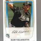 2011 Bowman Prospects  #69  ELIH VILLANUEVA   Marlins