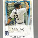 2011 Bowman Prospects  #70  WADE GAYNOR   Tigers