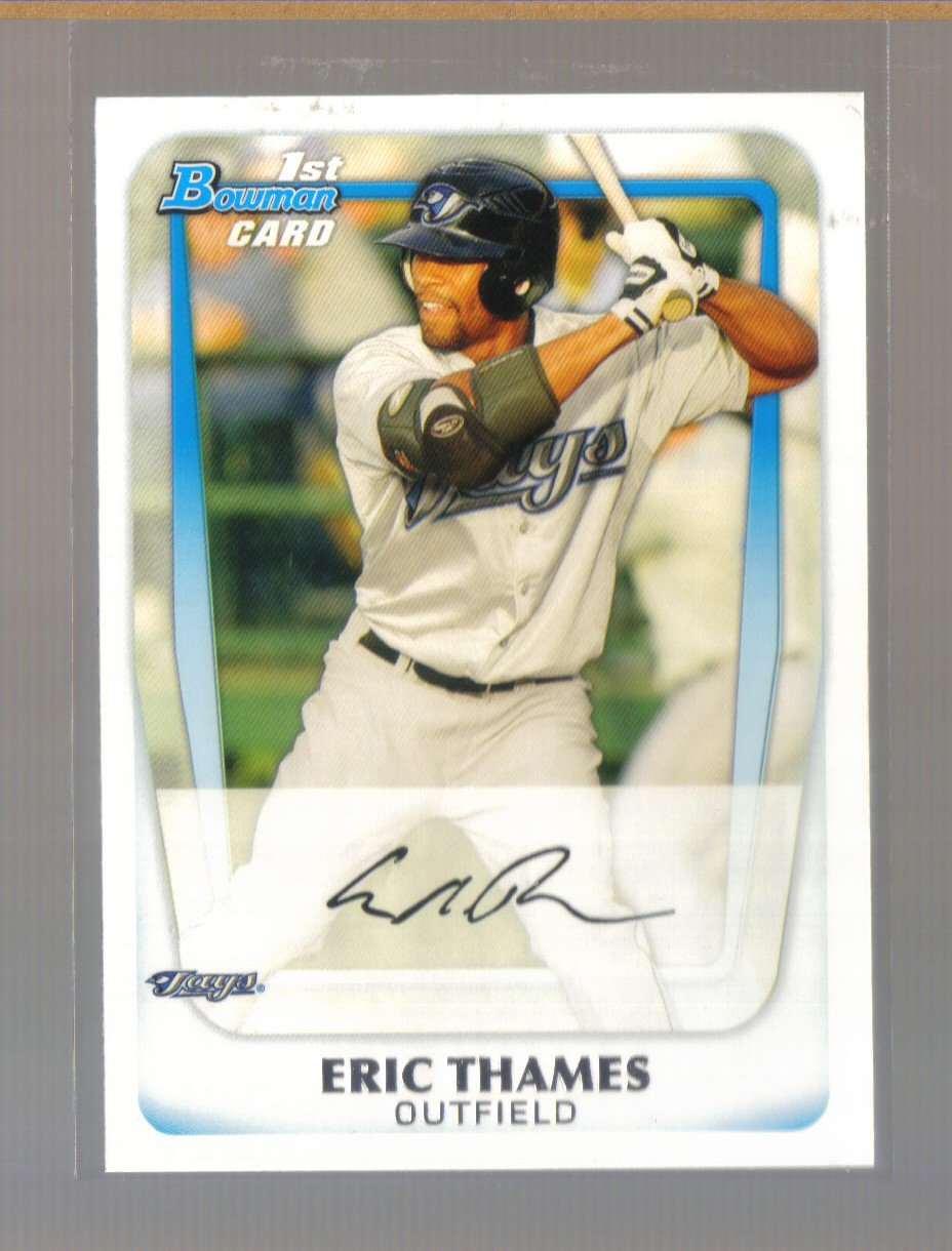 2011 Bowman Prospects  #102  ERIC THAMES    Blue Jays