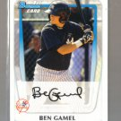 2011 Bowman Prospects  #104  BEN GAMEL   Yankees