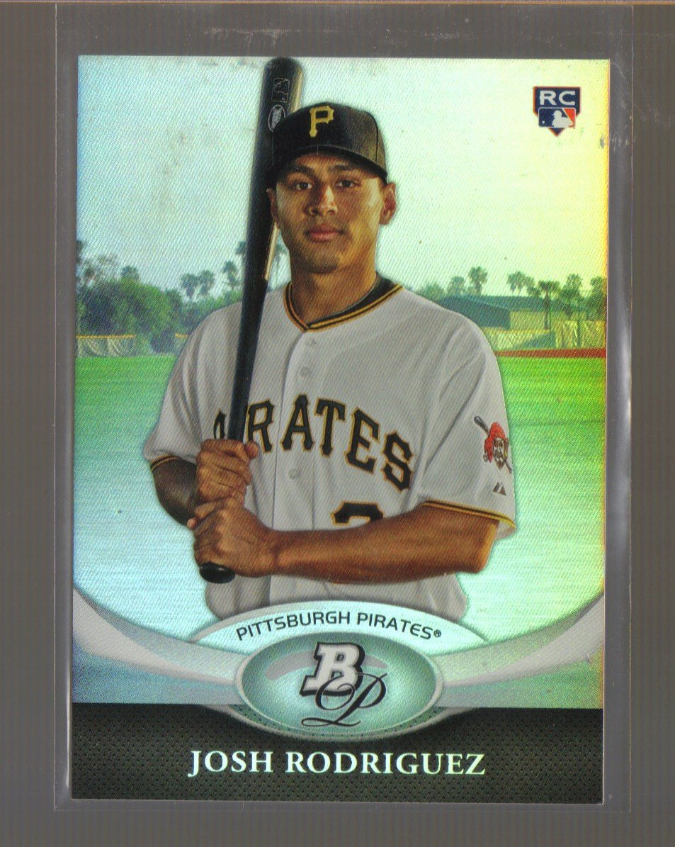 2011 Bowman Platinum  #2  JOSH RODRIGUEZ   RC   Pirates
