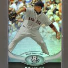 2011 Bowman Platinum  #4  JON LESTER   Red Sox