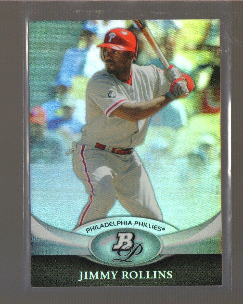 2011 Bowman Platinum  #12  JIMMY ROLLINS   Phillies