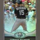2011 Bowman Platinum  #41  GORDON BECKHAM   White Sox