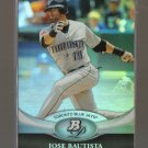 2011 Bowman Platinum  #51  JOSE BAUTISTA    Blue Jays