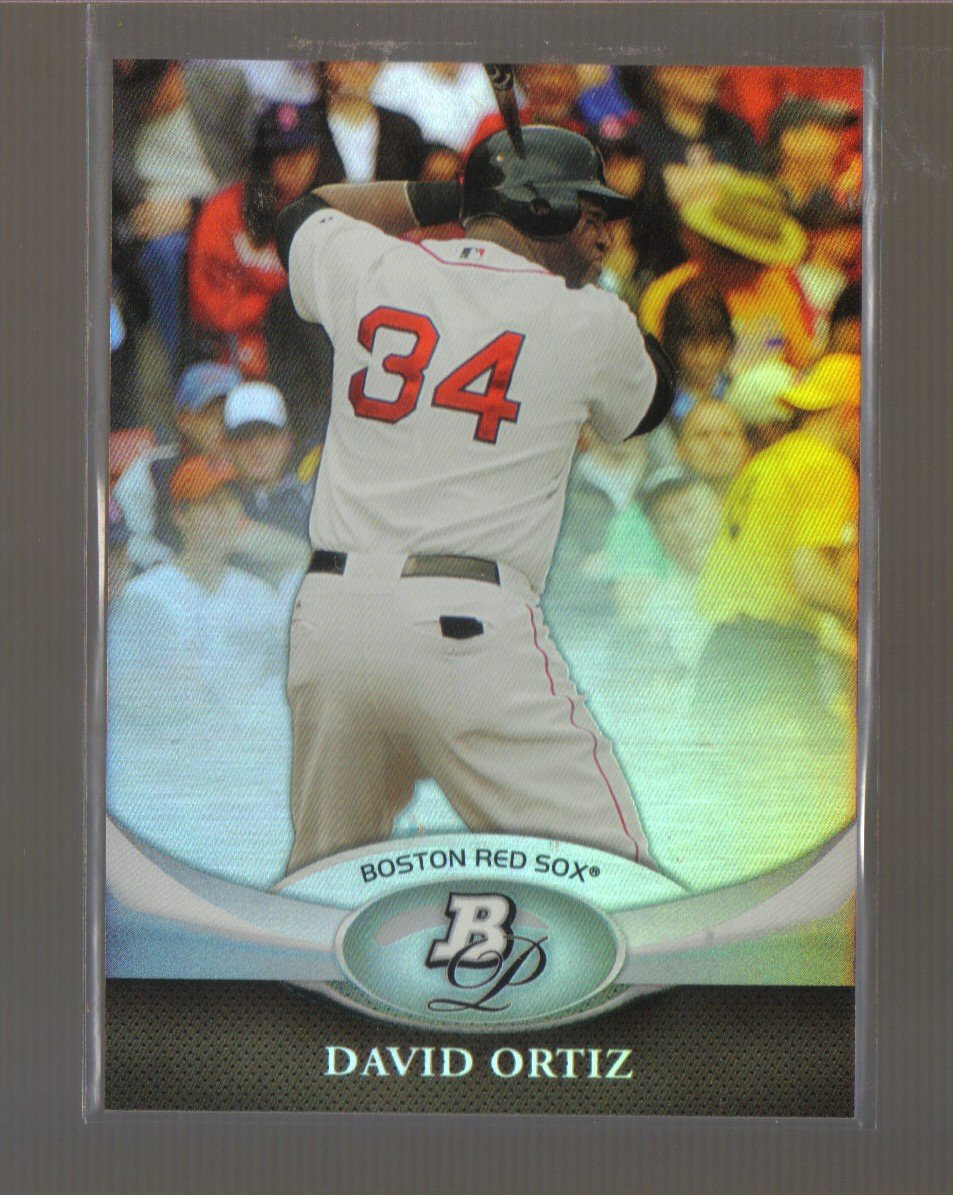 2011 Bowman Platinum  #53  DAVID ORTIZ   Red Sox