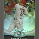 2011 Bowman Platinum  #76  YONDER ALONSO   RC   Reds