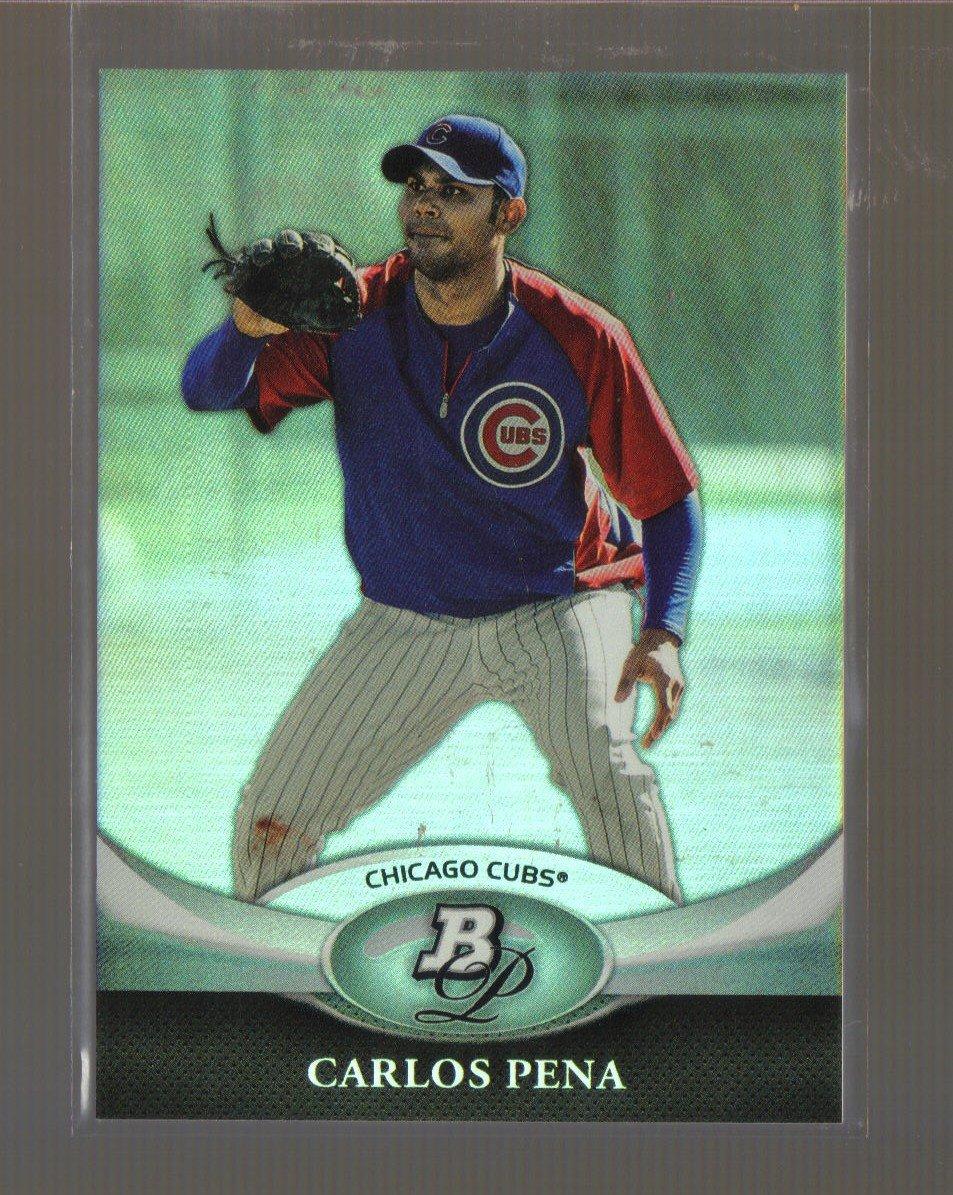 2011 Bowman Platinum  #81  CARLOS PENA    Cubs