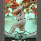2011 Bowman Platinum  #98  MATT HOLLIDAY   Cardinals