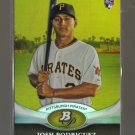 2011 Bowman Platinum Gold  #2  JOSH RODRIGUEZ   RC   Pirates