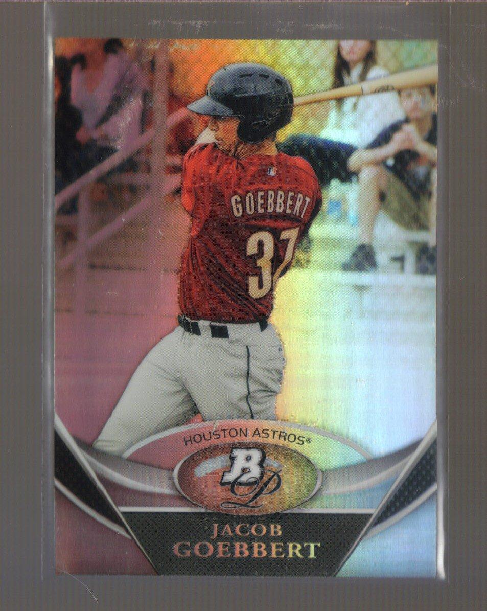2011 Bowman Platinum Prospects  #57  JACOB GOEBBERT   Astros