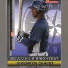 2011 Bowman Bowman's Brightest  #13  JOHERMYN CHAVEZ   Mariners