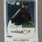 2011 Bowman Prospects Chrome  #22  JOEL CARRENO   Blue Jays