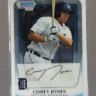 2011 Bowman Prospects Chrome  #43  COREY JONES   Tigers