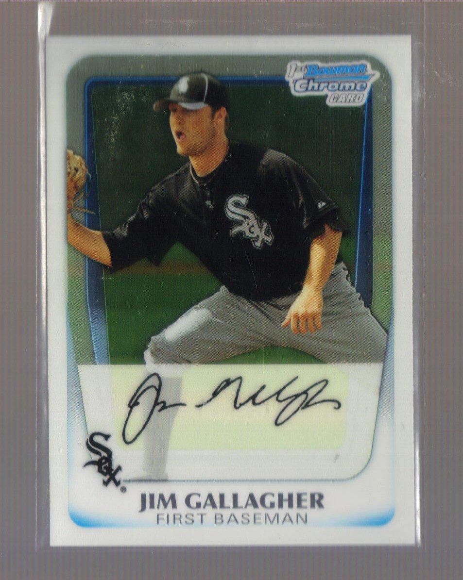 2011 Bowman Prospects Chrome  #74  JIM GALLAGHER   White Sox