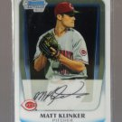 2011 Bowman Prospects Chrome  #77  MATT KLINKER   Reds