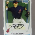 2011 Bowman Prospects Chrome  #98  TONY WOLTERS   Indians