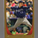 2011 Bowman Gold  #125  ZACK GREINKE   Brewers
