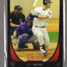 2011 Bowman  #35  JOE MAUER   Twins