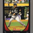 2011 Bowman  #81  ALEX RIOS   White Sox