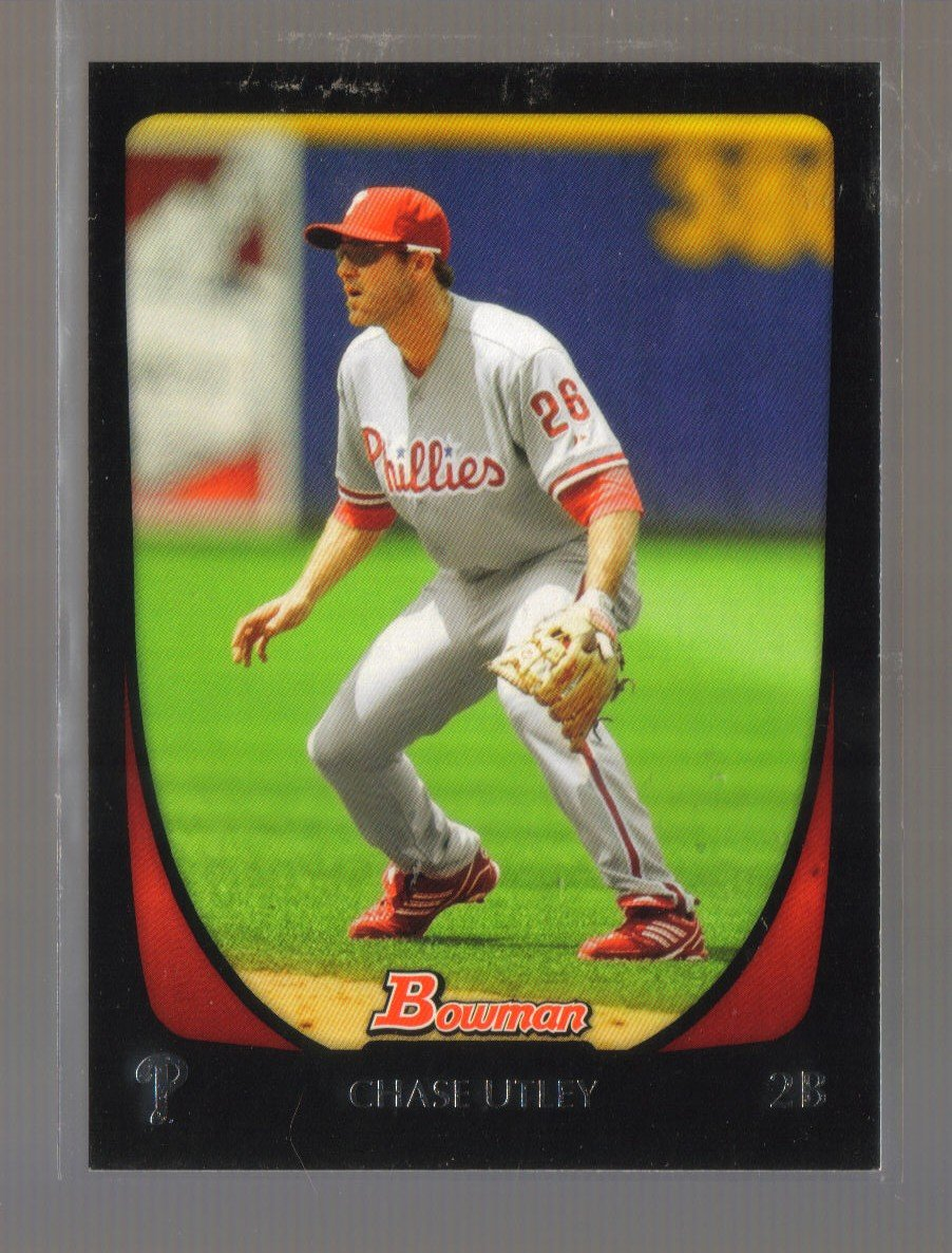 2011 Bowman  #111  CHASE UTLEY   Phillies
