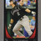 2011 Bowman  #155  TROY TULOWITZKI    Rockies
