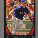2011 Bowman  #159  MICHAEL YOUNG    Rangers