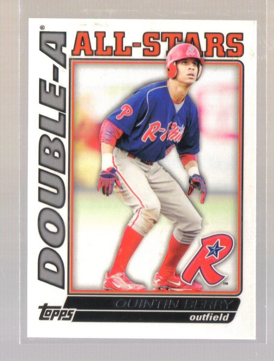 2010 Topps Pro Debut Double-A All-Stars  #3  QUINTIN BERRY   Phillies