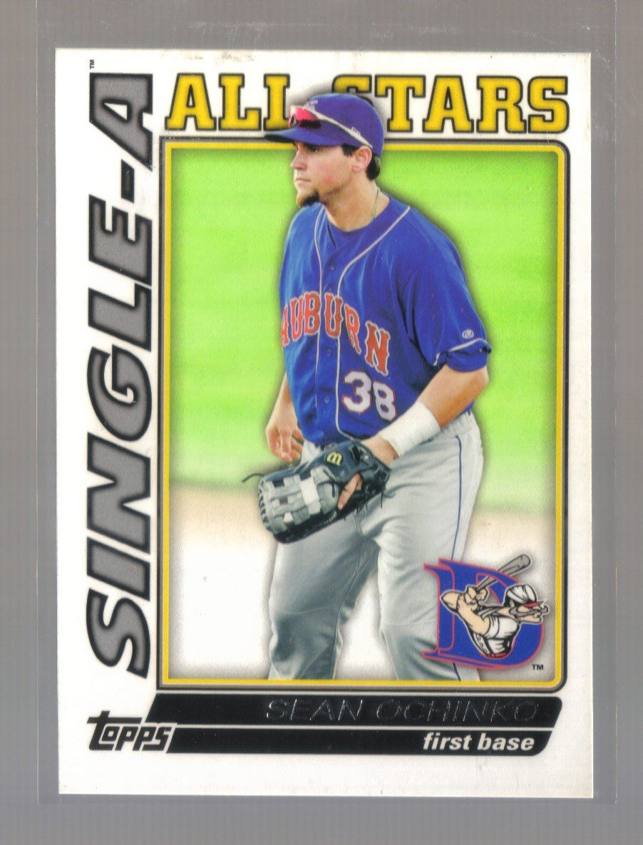 2010 Topps Pro Debut Single-A All-Stars  #6  SEAN OCHINKO   Blue Jays