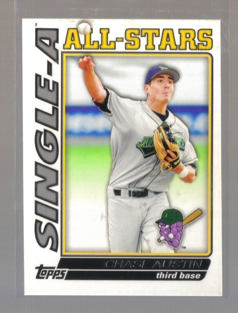 2010 Topps Pro Debut Single-A All-Stars  #21  CHASE AUSTIN   Marlins