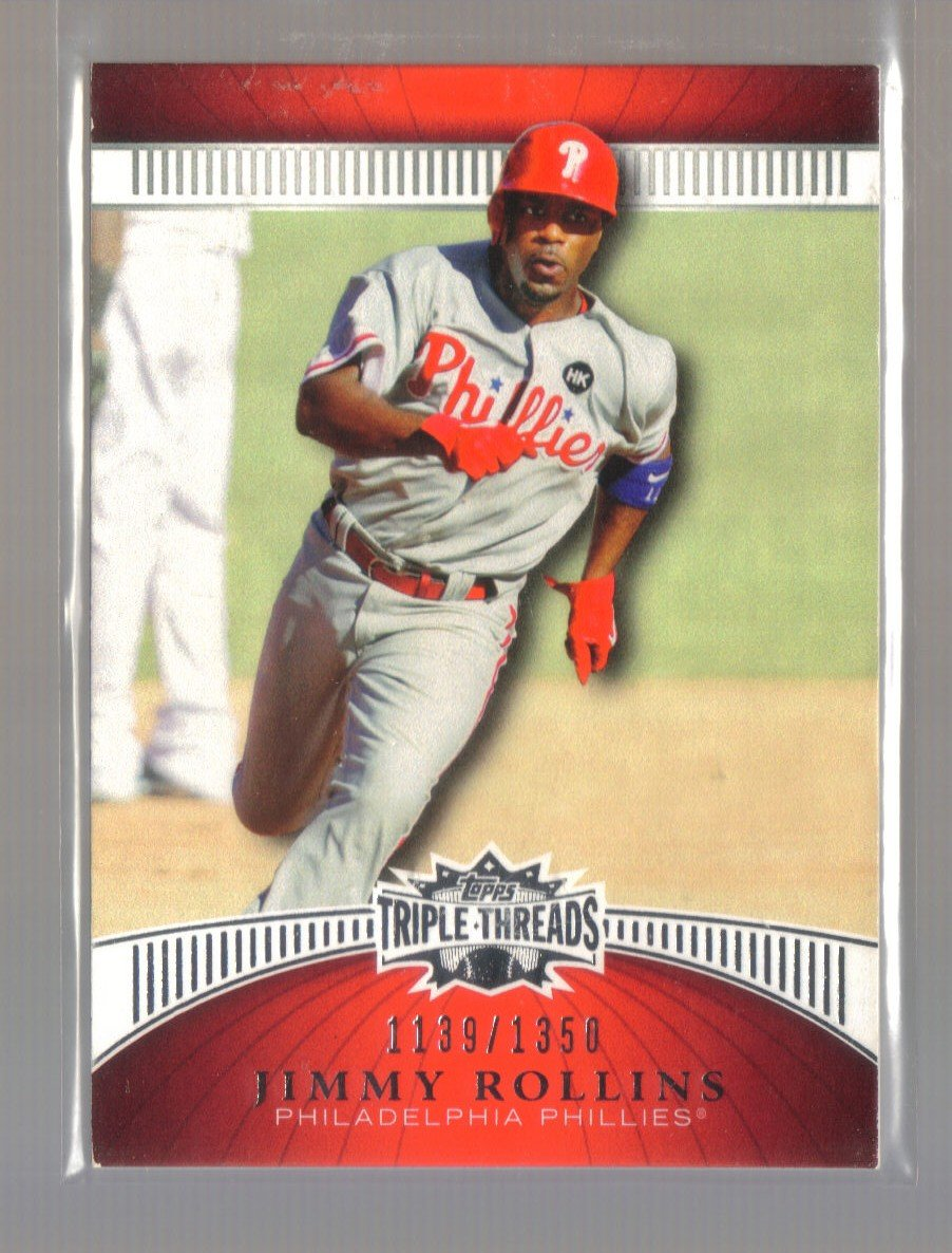 2010 Topps Triple Threads  #69  JIMMY ROLLINS   Phillies  /1350