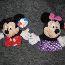 NEW Mickey & Minnie TALKING hand puppets!