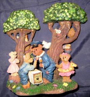 Boyd's Bears Candlestick by the Danbury Mint