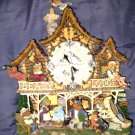 Boyds Bears Beary Lodge Clock
