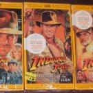 New-The Indiana Jones Trilogy [VHS tapes]