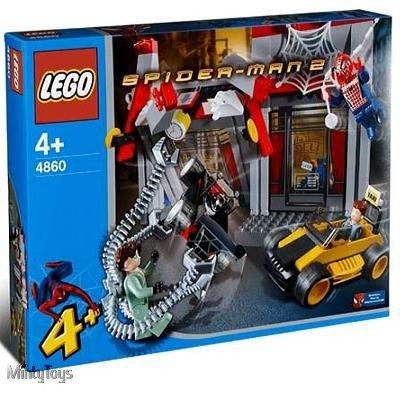 LEGO 4860 4 Juniors Doc Ock's Cafe Attack