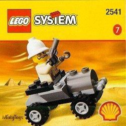 LEGO 2541 Adventurers Adventurers Car