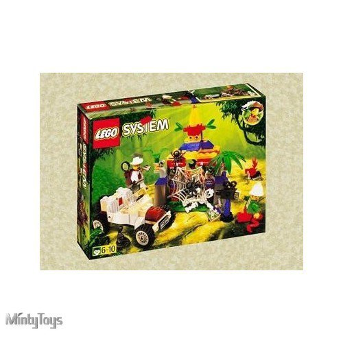 LEGO 5936 Adventurers Spider's Secret