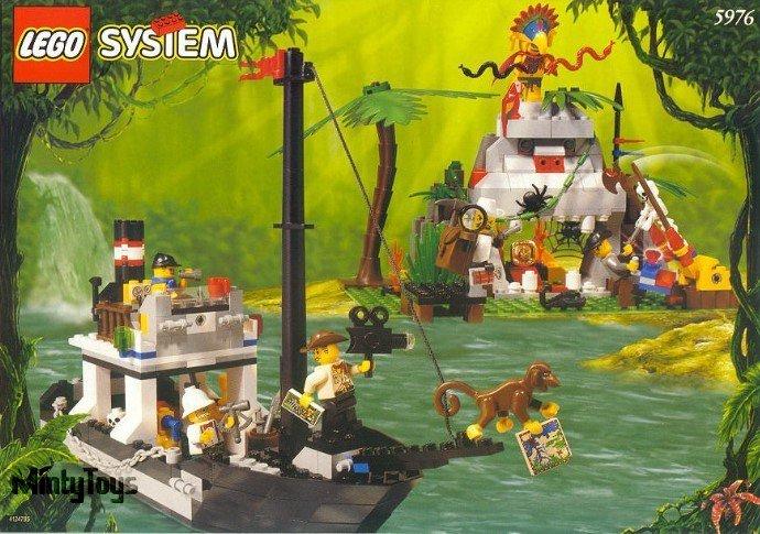LEGO 5976 Adventurers River Expedition