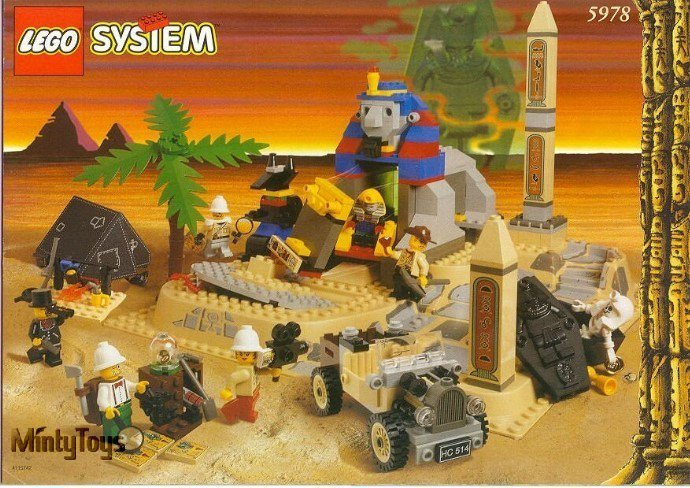 LEGO 5978 Adventurers Sphinx Secret Surprise