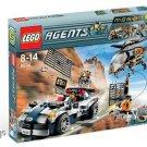 LEGO 8634 Agents Turbocar Chase
