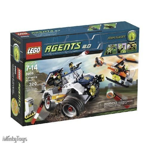 LEGO 8969 Agents 4-Wheeling Pursuit