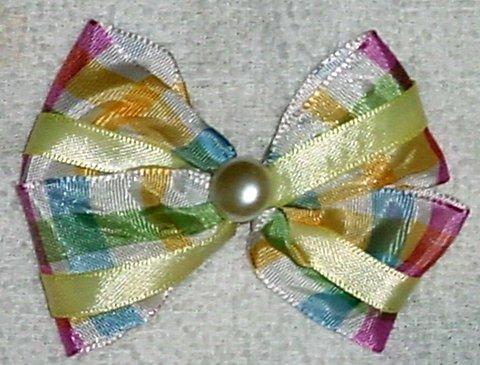 Plaid Hair Bow