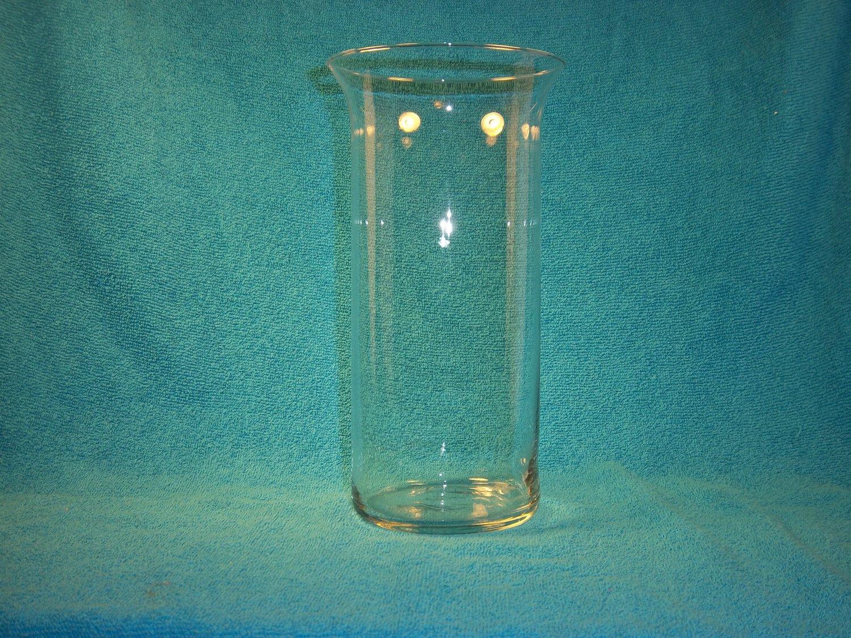Tall Glass Cylinder Vase