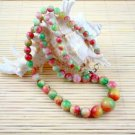 The color of the beautiful jade necklace (A26)