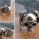 Rare Tibet Tibet pirate skull silver silver rings
